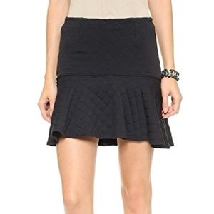 David Learner quilted fit and flare skirt Medium